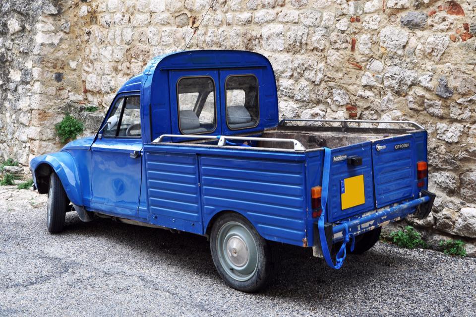 citro n acadiane pickup une voiture de collection propos e par johan c. Black Bedroom Furniture Sets. Home Design Ideas