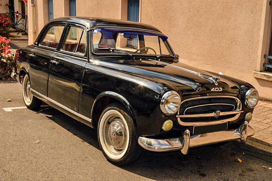 Peugeot 403 Une Voiture De Collection Propos 233 E Par Florian P