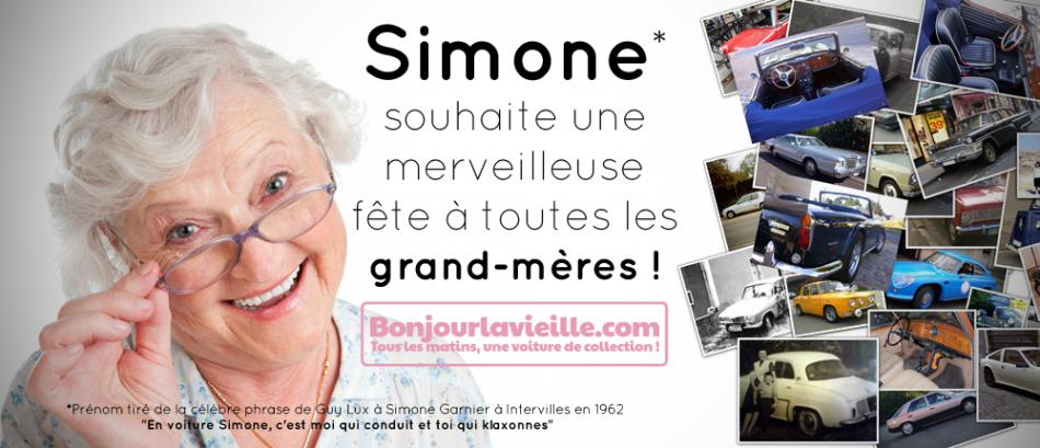 Simone aime les Grand-mères